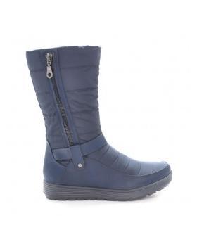 Дамски ежедневни ботуши сини 030001 в online магазин Fashionzona