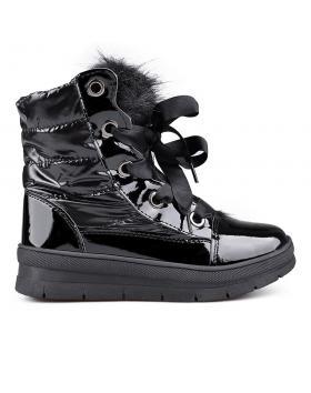 Черни дамски апрески с топъл хастар 0132351 в online магазин Fashionzona