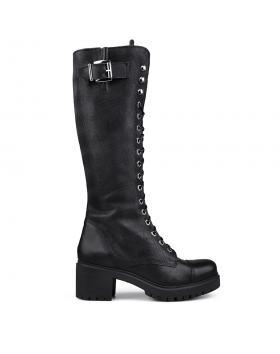 Дамски ежедневни ботуши черни 0133521 в online магазин Fashionzona
