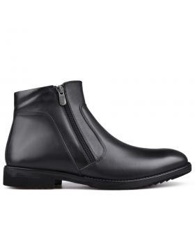 Черни мъжки елегантни боти 0132833 в online магазин Fashionzona