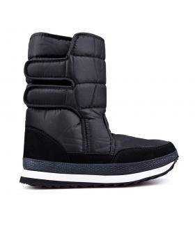 Мъжки апрески черни с топъл хастар 0132358 в online магазин Fashionzona