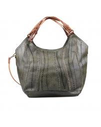 Зелена дамска ежедневна чанта 0132339
