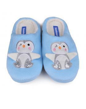 Сини дамски пантофи Trishna в online магазин Fashionzona