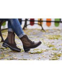Кафяви дамски ежедневни боти Jovina в online магазин Fashionzona