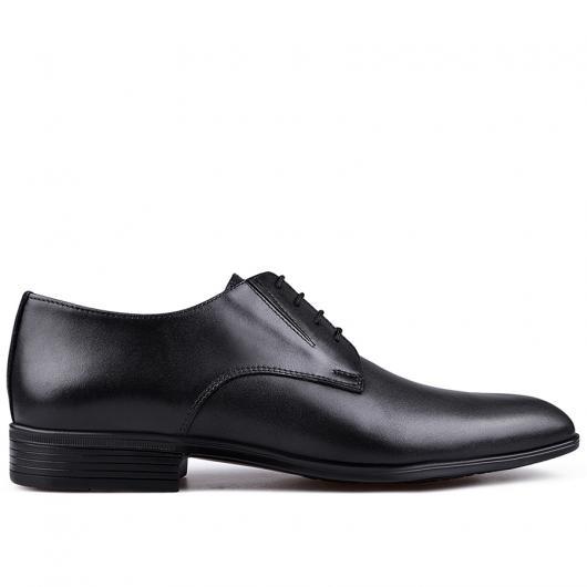 Черни мъжки елегантни обувки Francisco
