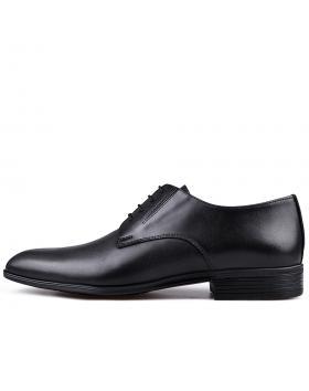 Черни мъжки елегантни обувки Francisco в online магазин Fashionzona