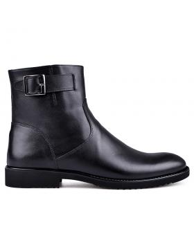 Черни мъжки елегантни боти с топъл хастар 0133625 в online магазин Fashionzona
