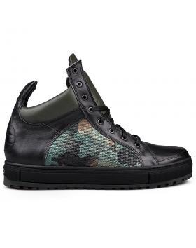 Черни мъжки кецове 0132824 в online магазин Fashionzona