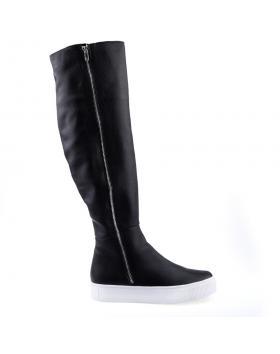 дамски ежедневни ботуши черни 0126036 в online магазин Fashionzona