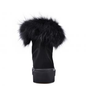 Черни дамски ежедневни боти с топъл хастар 0132791 в online магазин Fashionzona