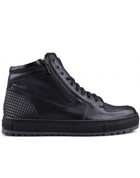 Мъжки ежедневни боти черни 0132829 в online магазин Fashionzona