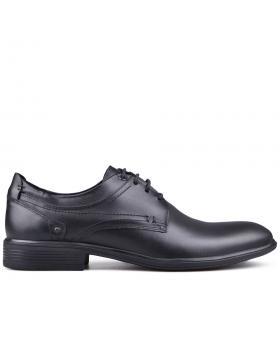 Черни мъжки елегантни обувки 0132816 в online магазин Fashionzona
