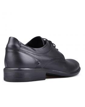Черни мъжки елегантни обувки Hilario в online магазин Fashionzona