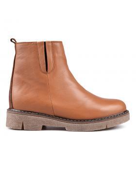 Кафяви дамски ежедневни боти 0132754 в online магазин Fashionzona