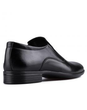 Черни мъжки елегантни обувки Teino в online магазин Fashionzona