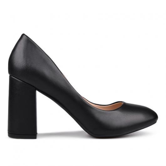 Черни дамски елегантни обувки 0132174