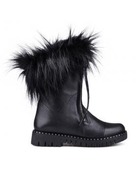 Черни дамски ежедневни боти 0132789 в online магазин Fashionzona