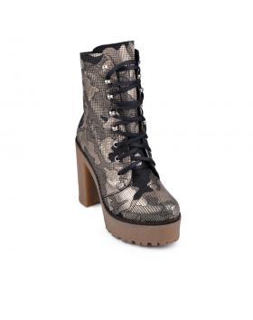 Златисти дамски ежедневни боти Rubia в online магазин Fashionzona