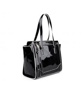 Черна дамска ежедневна чанта 0133047 в online магазин Fashionzona