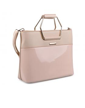 Бежова дамска ежедневна чанта 0133046 в online магазин Fashionzona