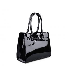Черна дамска ежедневна чанта 0133044 в online магазин Fashionzona