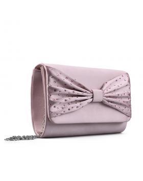 Розова дамска елегантна чанта 0133015 в online магазин Fashionzona