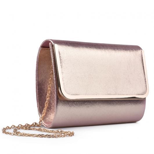 Бежова дамска елегантна чанта 0133022