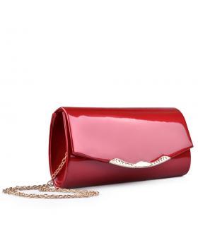 Червена дамска елегантна чанта 0132994 в online магазин Fashionzona