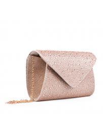 Бежова дамска елегантна чанта 0132996