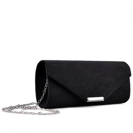 Черна дамска елегантна чанта 0132977