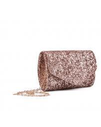 Бежова дамска елегантна чанта 0133005