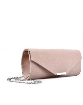 Дамска елегантна чанта бежова 0132976 в online магазин Fashionzona