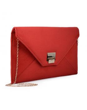 Червена дамска елегантна чанта 0133039 в online магазин Fashionzona