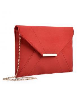 Червена дамска елегантна чанта 0133026 в online магазин Fashionzona