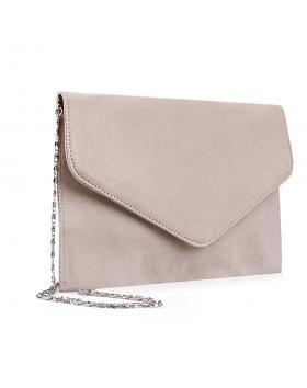 Дамска елегантна чанта бежова 0133031 в online магазин Fashionzona