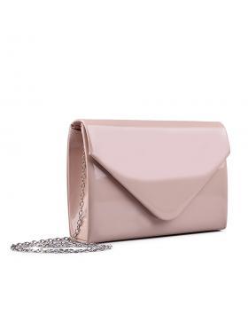 Дамска елегантна чанта бежова 0132982 в online магазин Fashionzona