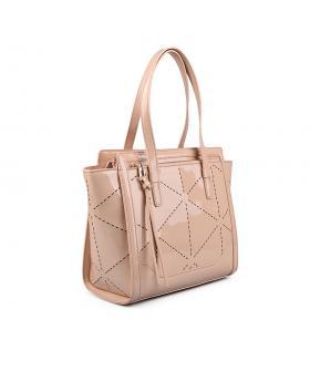 Бежова дамска ежедневна чанта 0133048 в online магазин Fashionzona
