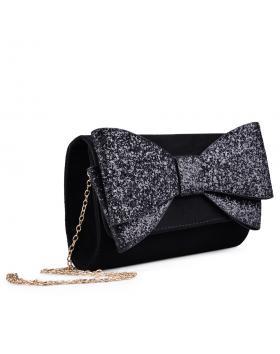 дамска елегантна чанта черна 0133035 в online магазин Fashionzona