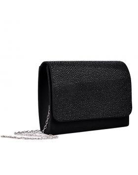 Черна дамска елегантна чанта 0133008 в online магазин Fashionzona