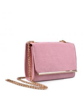 Розова дамска елегантна чанта 0133056 в online магазин Fashionzona