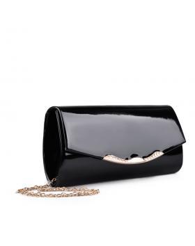 дамска елегантна чанта черна 0132995 в online магазин Fashionzona
