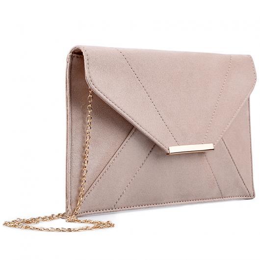 Бежова дамска елегантна чанта 0133027