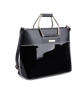 Черна дамска ежедневна чанта 0133045 в online магазин Fashionzona