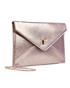 Розова дамска елегантна чанта 0133025 в online магазин Fashionzona
