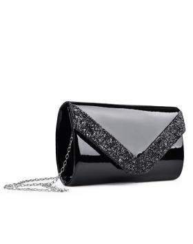 Черна дамска елегантна чанта 0132998 в online магазин Fashionzona