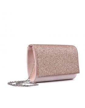 Бежова дамска елегантна чанта 0132987 в online магазин Fashionzona