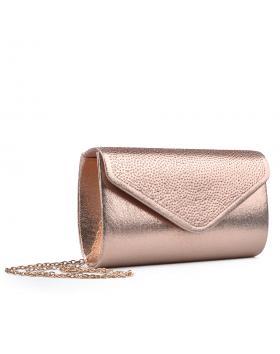 Бежова дамска елегантна чанта 0133011 в online магазин Fashionzona