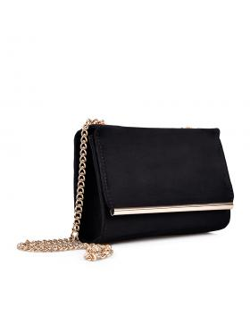 Черна дамска елегантна чанта Clair в online магазин Fashionzona