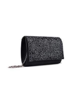 дамска елегантна чанта черна 0133000 в online магазин Fashionzona