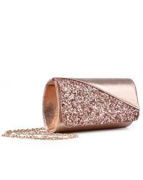 Бежова дамска елегантна чанта 0133003 в online магазин Fashionzona